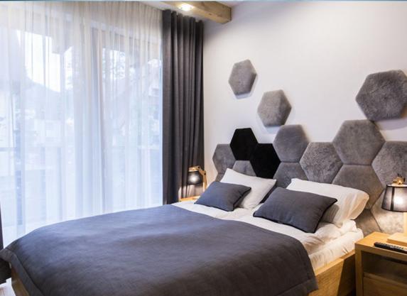 Oryginalne wykończenie apartamentu gwarantuje zainteresowanie gości!