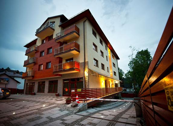 Kompleks Jagiellońska 34 jest przykładem obiektu zlokalizowanego wsamym centrum Zakopanego!
